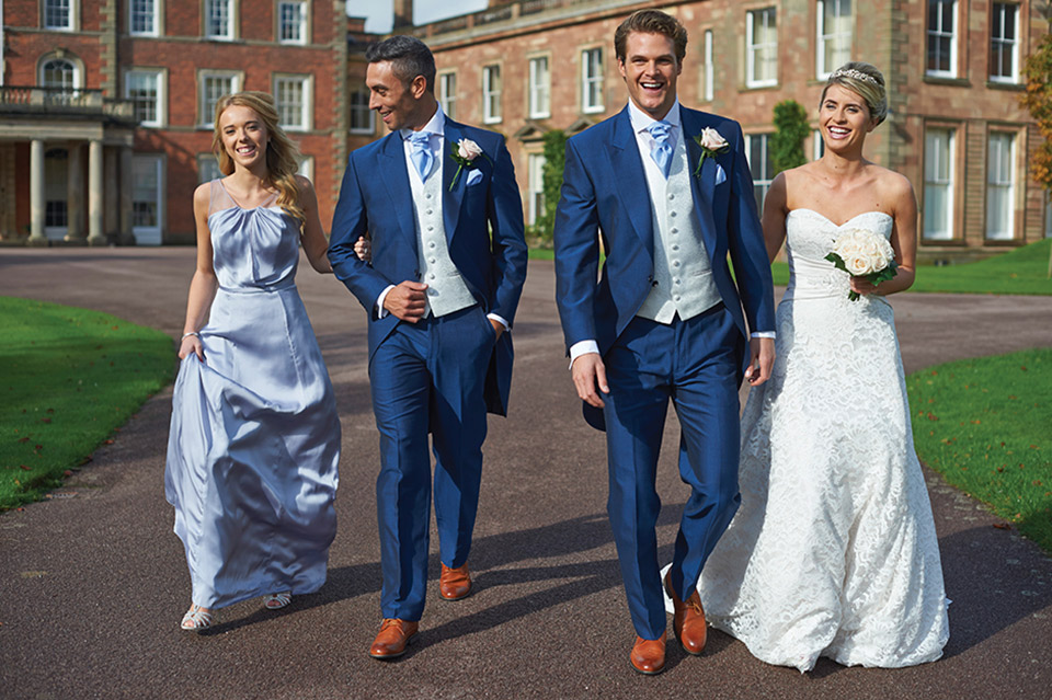 Wedding Suit Hire from Suits Newbury - formal menwear specialist