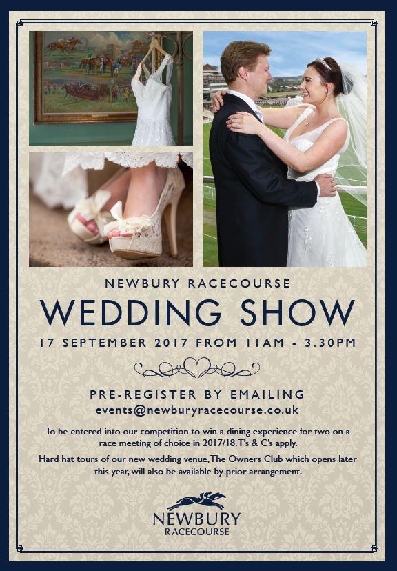 Newbury Racecourse Wedding Fair 17th September 2017