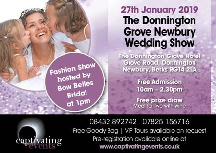 Donnington Grove Hotel - Wedding Show 27th January 2019