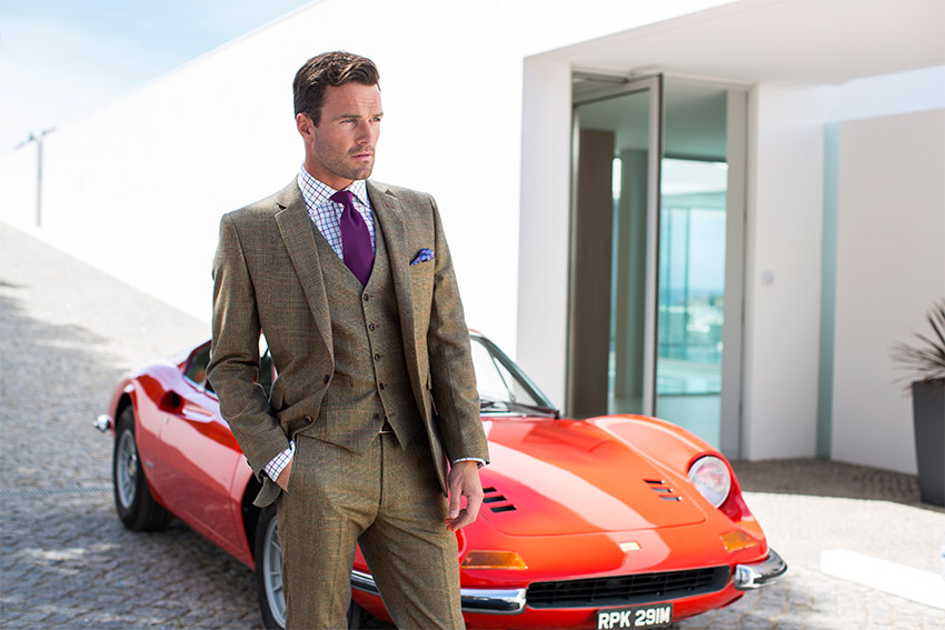 Country Casual Wear Suits Newbury