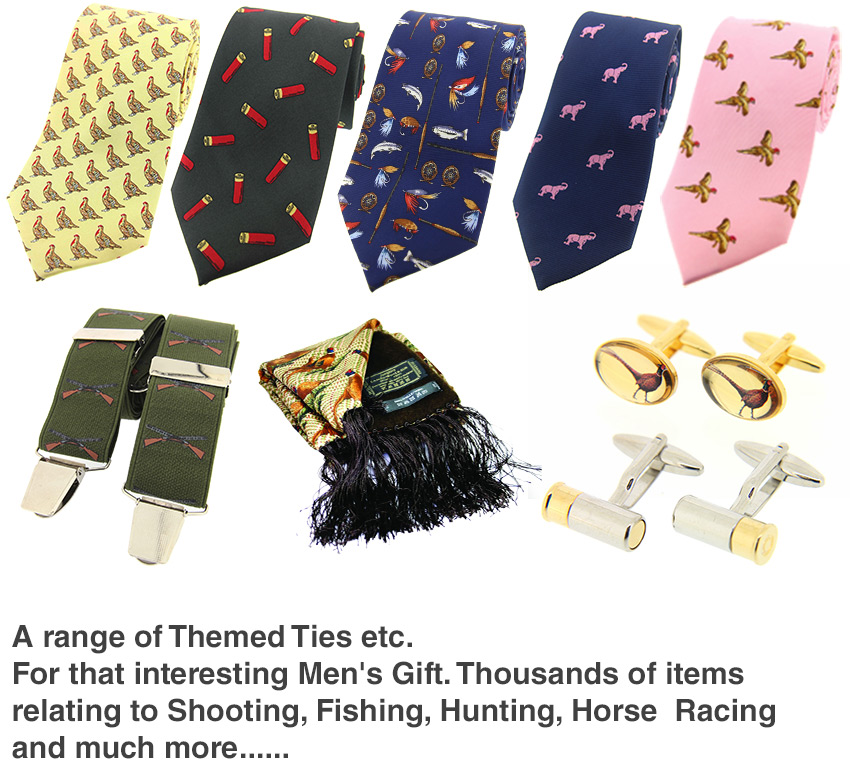 Retail Accessories - Ties, Cufflinks, Braces and more.