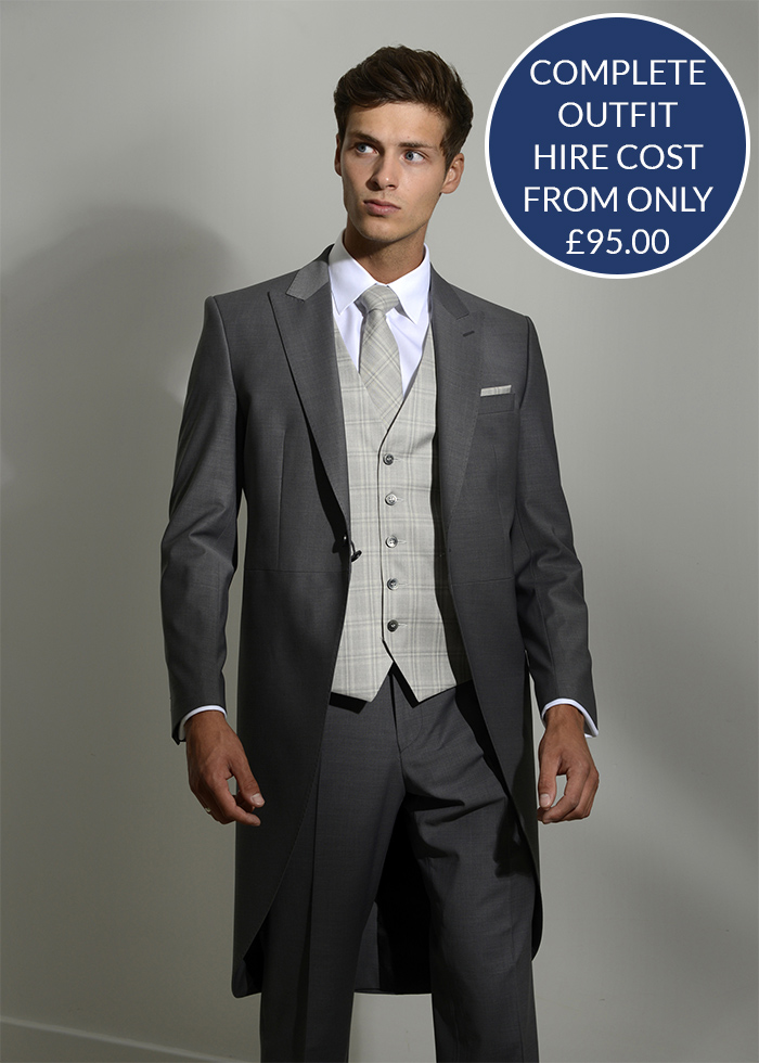 Suit hire - Complete outfit hire from £95